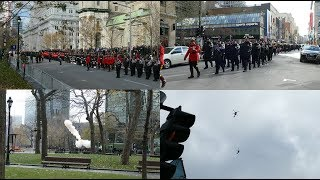 Jour Du Souvenir / Remembrance day / Montreal 2018