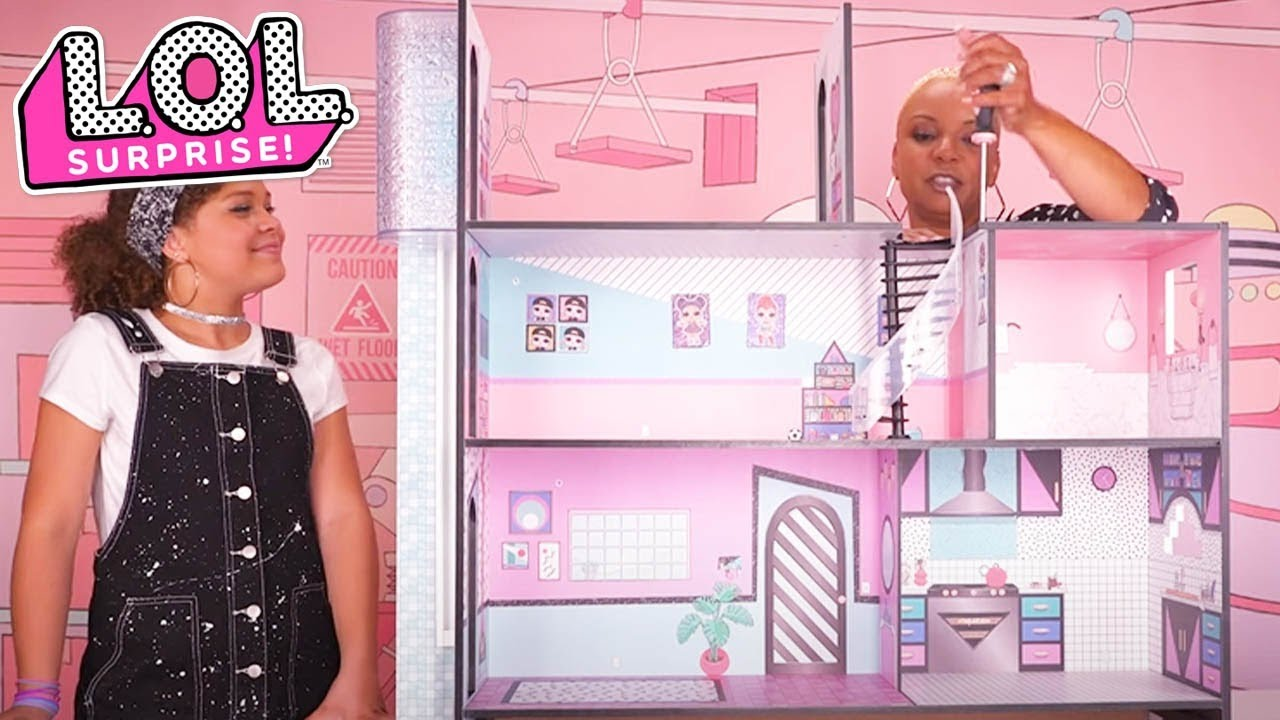Lol Surprise Lol Surprise House Assembly Instructions Easy