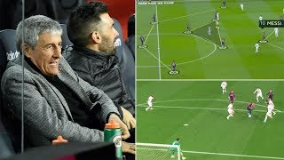 Four KEY changes from Quique Setien's Barcelona vs Granada - Tactical Breakdown