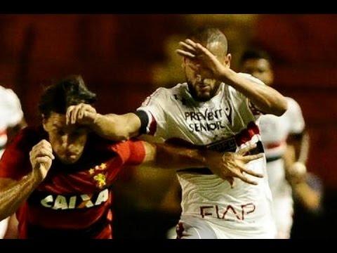 Sport 1 x 1 São Paulo, Melhores Momentos - Série A 05/10/2016