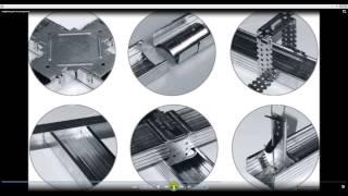 видео Алюминиевый профиль для перегородок: виды и способы применения