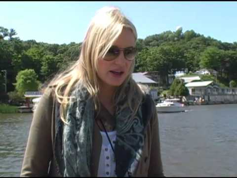 Daryl Hannah interviewed at the Waterfront Film Festival in Saugatuck, Michigan