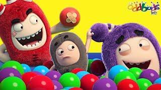 Oddbods   BALL PIT PRANK - बॉल पिट प्रैंक   Funny Cartoons for Children
