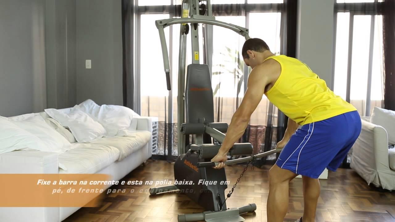 ac2e151e2 Guia de exercício da Estação de Musculação Athletic Advanced 290M - Athletic  Best For Life - YouTube