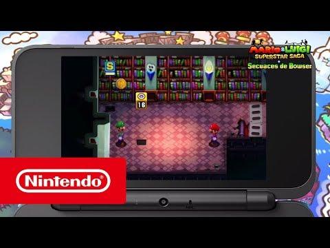 Mario & Luigi: Superstar Saga + Secuaces de Bowser (Nintendo 3DS)