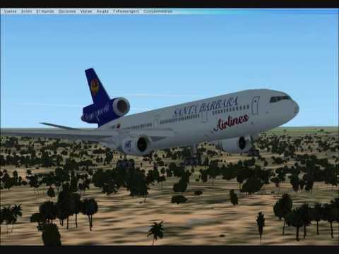 FSX: Santa Barbara Airlines short flight
