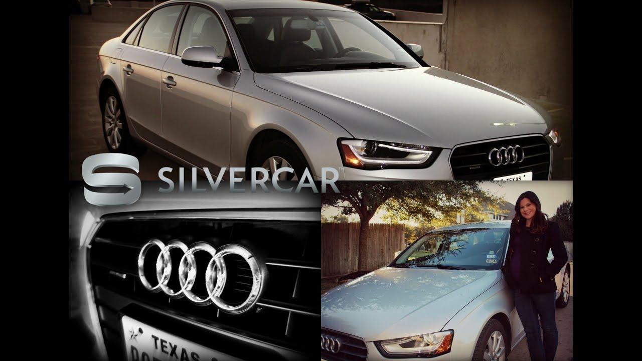 The Silvercar Experience With Stephanie Wonderlin Audi A4