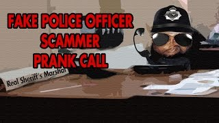 Trolling Scammers: Fake Jamaican Police Officer - The Hoax Hotel