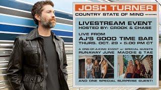 Josh Turner – 'Country State Of Mind' Livestream