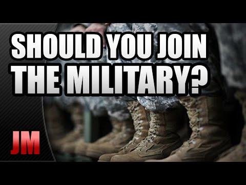 why one should join the military Deciding to join the military should require some internal discussion and finding your why ask yourself why you want to join the military do.