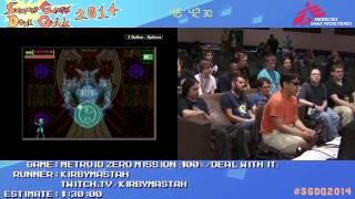 Summer Games Done Quick 2014 - Part 141 - Metroid Zero Mission