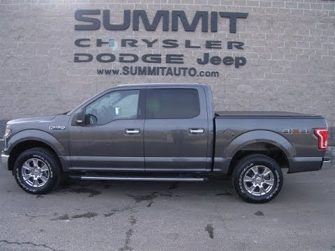 SOLD! 9408 2015 USED FORD F150 SUPERCREW XLT 5.0L V8 FOND DU LAC REVIEW $31,499 www.SUMMITAUTO.com