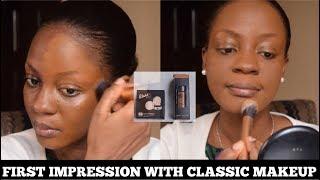 Testing Classic Makeup Matte Foundation & HD Powder - First Impressions | Omobola Missglam