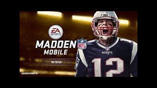 MADDEN MOBILE 18 GRIND LIVE!!! ROAD TO 99 OVERALL!!!