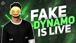 FAKE DYNAMO IS LIVE | TROLLING RANDOMS IN PUBG MOBILE FT. DYNAMO GAMING