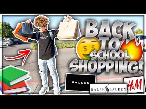 Back To School Shopping Vlog!! 📚🔥 || SENIOR YEAR (2019)