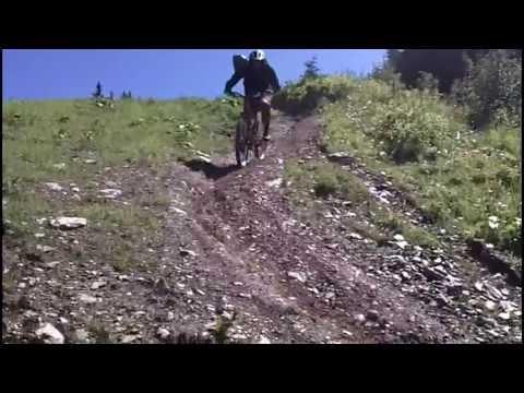 Planai (Schladming) World Cup Downhill MTB Run