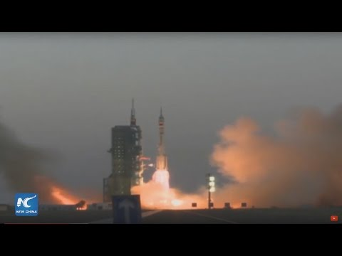 Live: China launches crewed space mission Shenzhou-11