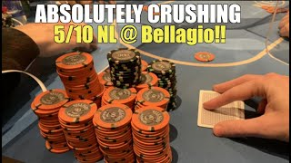 I Cold 5-bet Kings And Make Top Set In Biggest Win Ever @ Bellagio!! Poker Vlog Ep 146