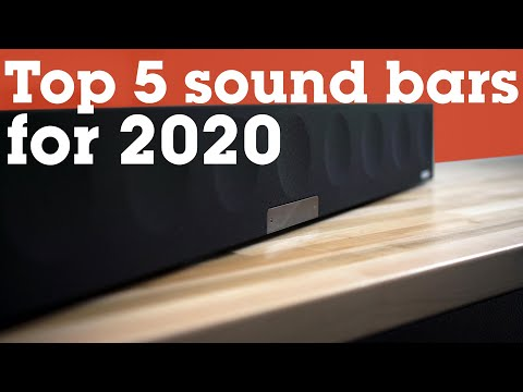 Five of the best sound bars for 2020 | Crutchfield