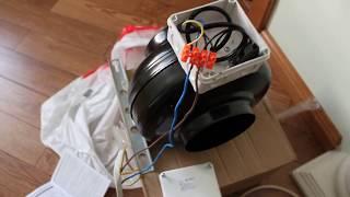 видео Бытовой канальный кондиционер (Сплит-система)