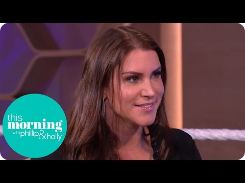 WWE Superstar Stephanie McMahon Can't Praise the Fans Enough | This Morning thumbnail