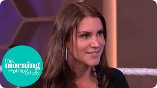WWE Superstar Stephanie McMahon Can't Praise the Fans Enough | This Morning