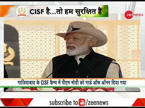 PM Modi attends CISF's Raising Day ceremony