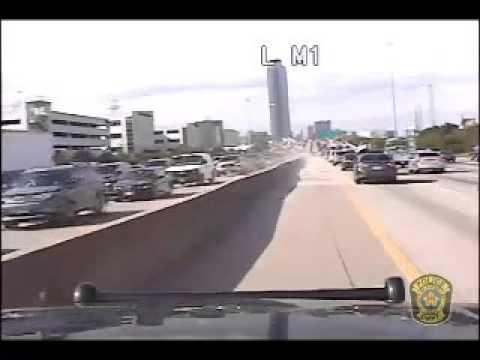 Serial Bank Robber Takes Police on Wild Chase Through Houston