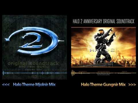 Halo 2 Soundtrack Mix  Halo Theme Mjolnir vs Gungnir