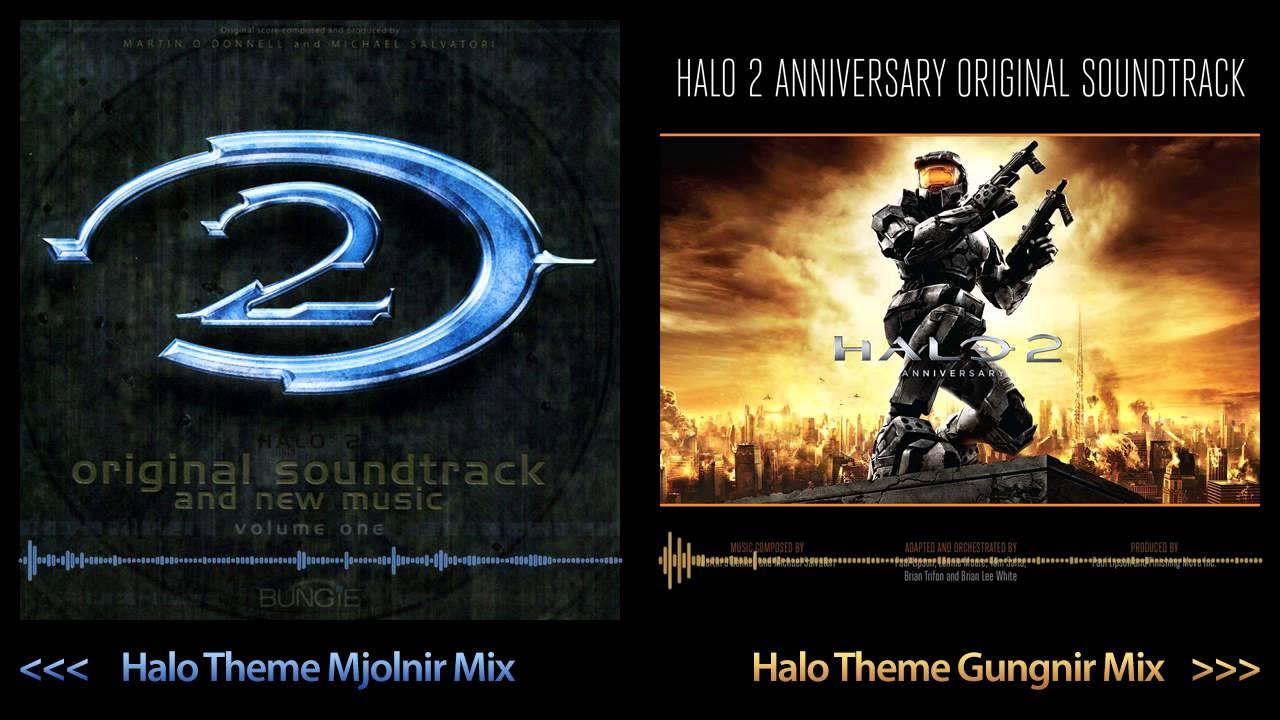 Halo 2 Soundtrack Mix - Halo Theme Mjolnir vs Gungnir