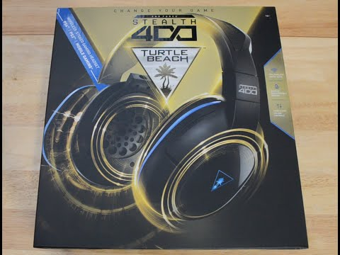 Turtle Beach Ear Force Stealth 400 Unboxing And First Look