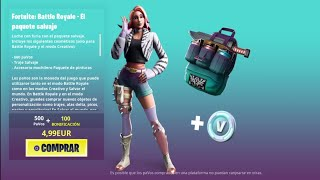 THE *NEW FORTNITE STORE* TODAY JUNE 4TH! FINALLY THE *NEW PACK* SALVAGE ALREADY AVAILABLE ❤️