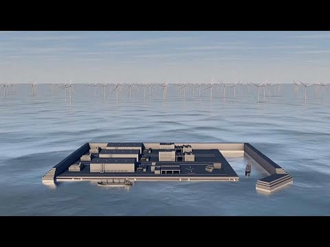 Denmark to build world's first energy island in the North Sea