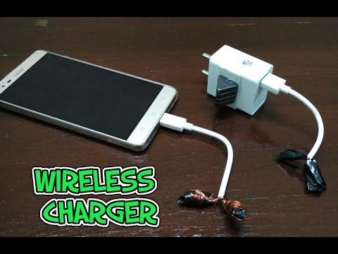 How to make a wireless USB charger