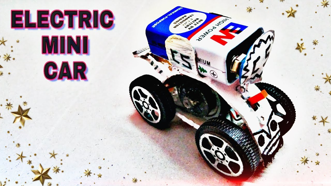 How To Make A Powerfull Electric Toy Car At Home Mini Car Youtube