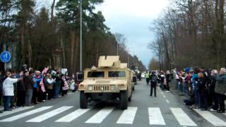 U.S. Army Dragoon Ride Pardubice 2nd convoy