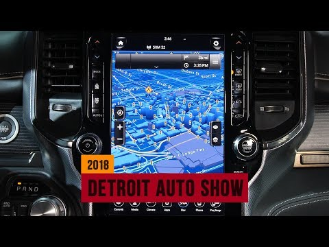 All of the cool cockpits and cabin tech at the Detroit Auto Show