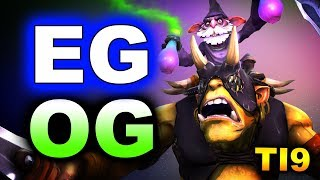 EG vs OG - WHAT A GAME! - TI9 INTERNATIONAL 2019 DOTA 2