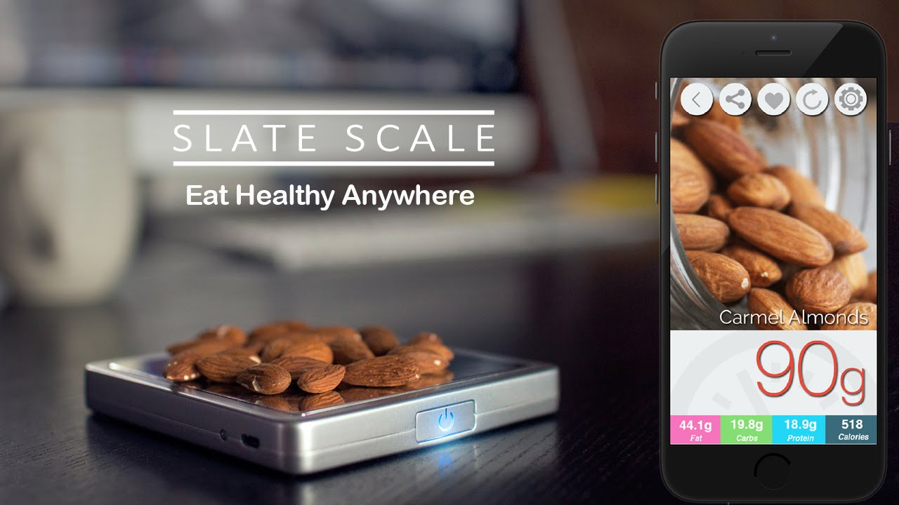slate the world s first portable smart scale for nutrition youtube