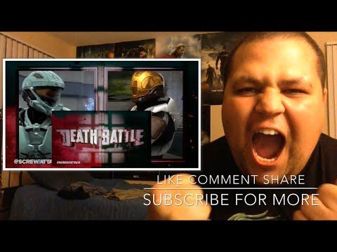 Meta VS Carolina | DEATH BATTLE + Red VS Blue REACTION!!