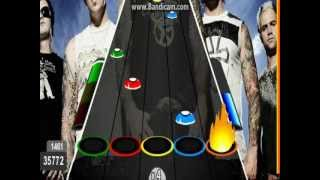 """Guitar Flash: Seize The Day - Avenged Sevenfold 100% Difícil(40414) """"RECORDE"""""""