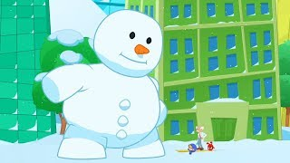 Magic Snowman + More!   ABCs and 123s   Morphle Nursery Rhymes