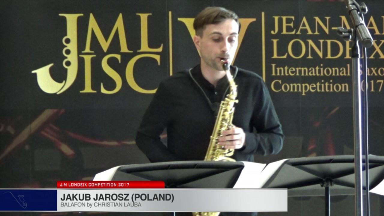 Londeix 2017 - Jakub Jarosz (Poland) - Balafon by Christian Lauba