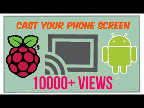 How To Cast Your Phone Screen to Raspberry Pi [ FULL TUTORIAL ]