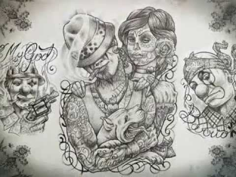 Chicano Tattoo Design