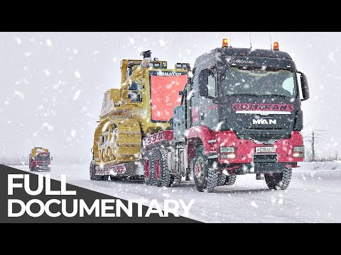 Most Dangerous Transports: Siberian Ice Road | Mega Transports | Free Documentary