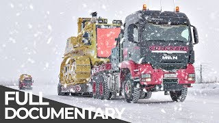 Download Most Dangerous Transports: Siberian Ice Road | Mega Transports | Free Documentary Mp3 and Videos