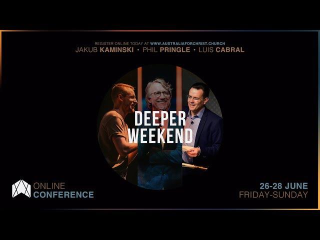 DEEPER WEEKEND - ONLINE CONFERENCE - 26 - 28 JUNE 2020