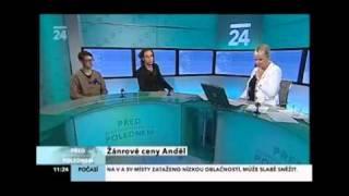 Kubatko na CT24 a Anděl 2010